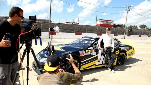 Copied from Media in Canada - Copied from StreamDaily - A production shot of Flat Out.